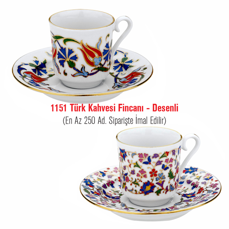 1151 kahve fincanı desenli kopya