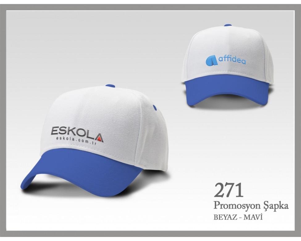 271-beyaz-mavi-sapka